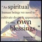 As Spiritual Beings